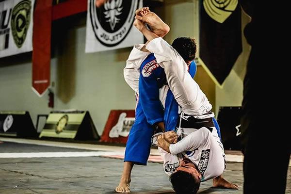 Aula de Jiu-Jitsu