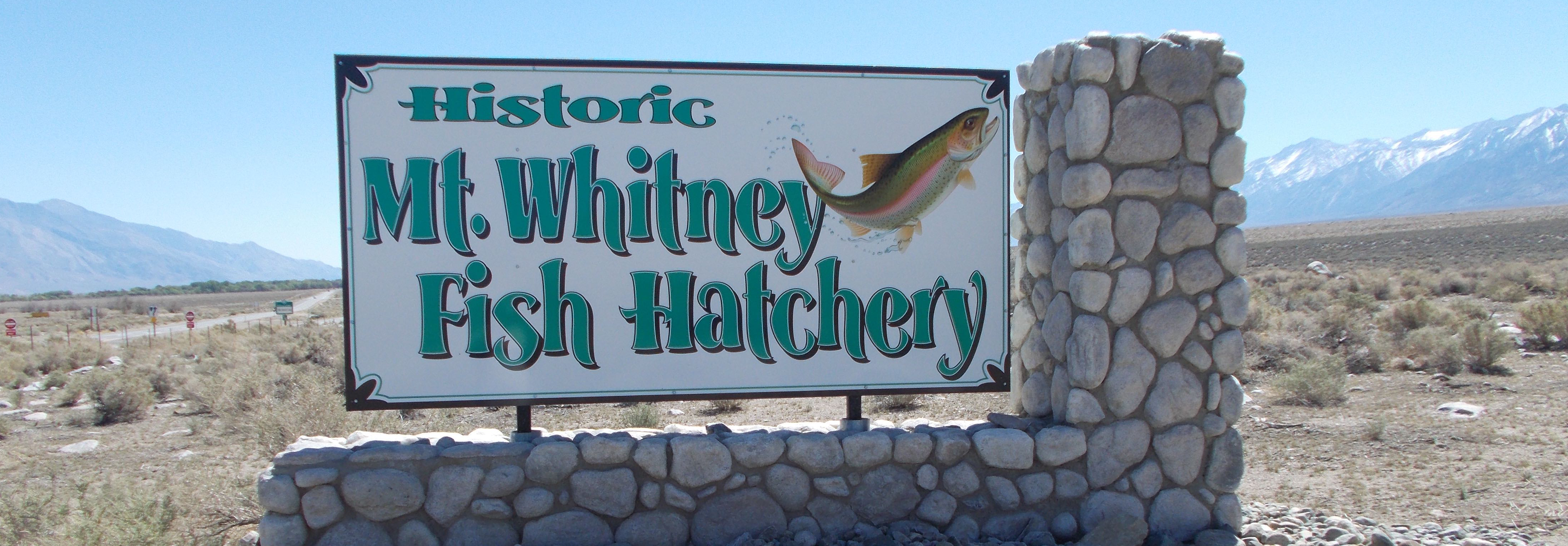 Hatchery Sign