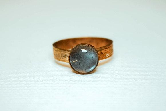 Labradorite Copper Stacker