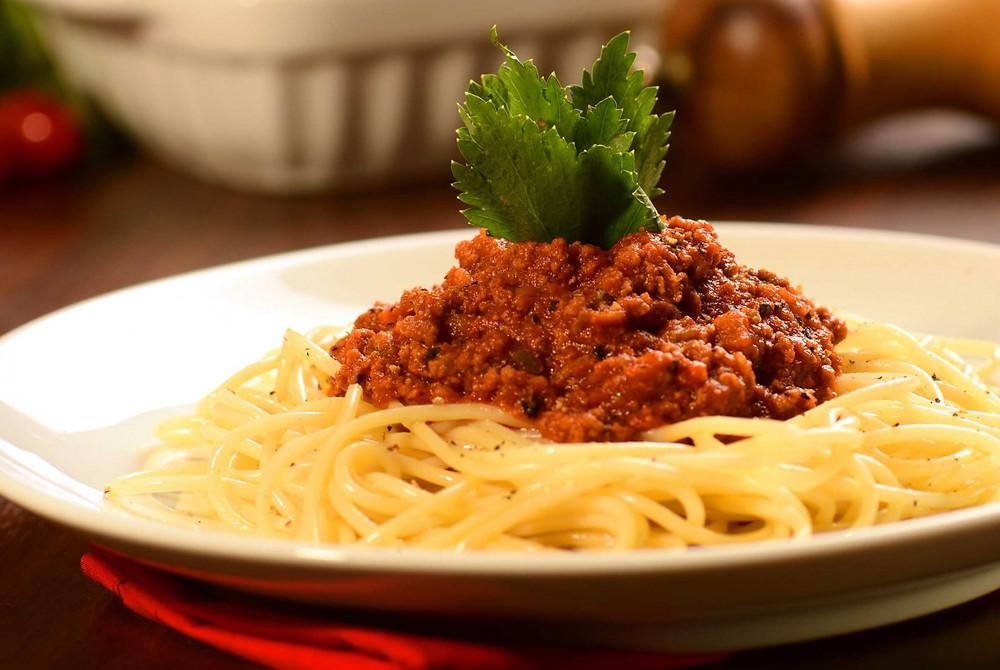 Prato de espaguete