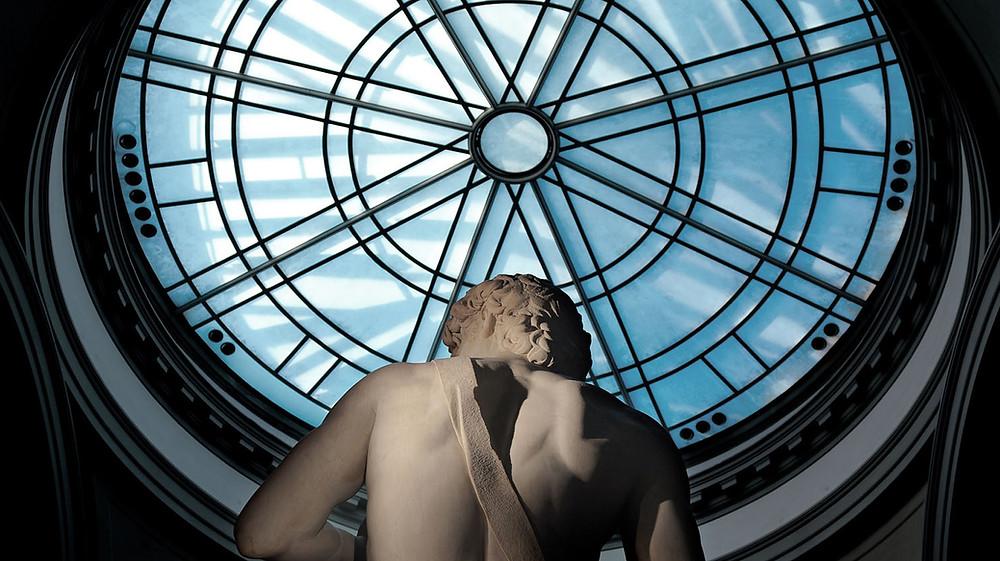 David de Michelangelo na Galleria dell'Academia