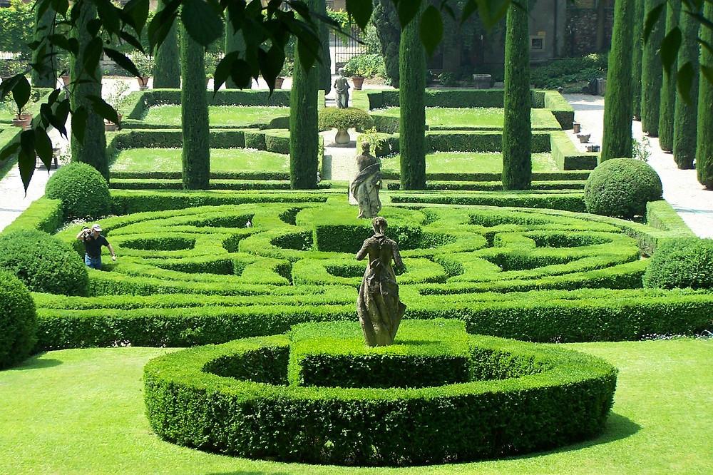 Jardim tipicamente italiano