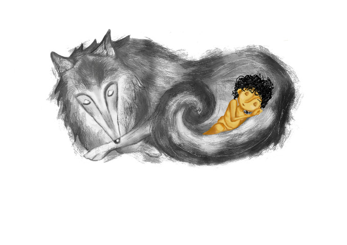 Akela & Mowgli