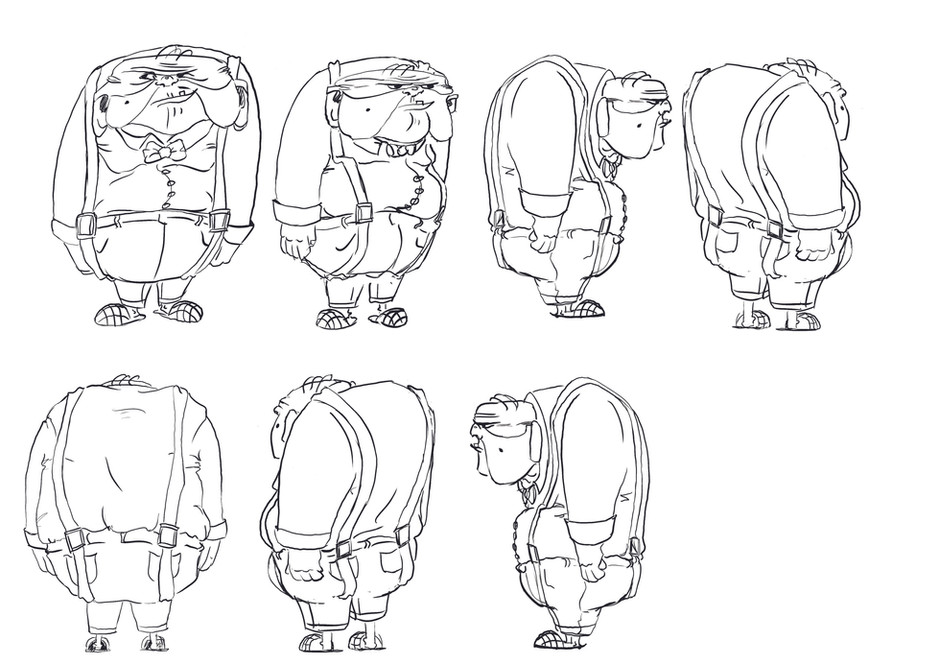Angus Ainsley Character Exploration