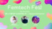"Femtech Fes! オンライン Vol.13「新しい""夜泣き""との付き合い方〜Babytech & Femtech」"