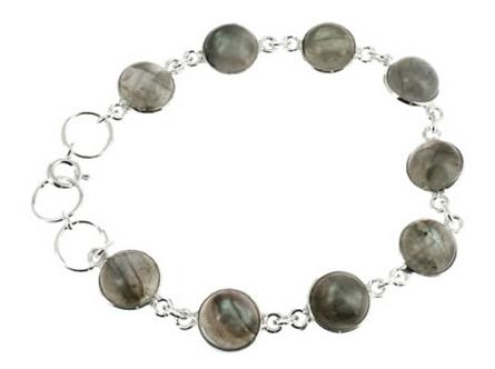Bracelet argent - Labradorite