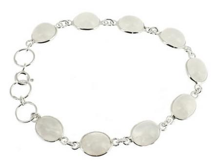 Bracelet argent - Pierre de Lune