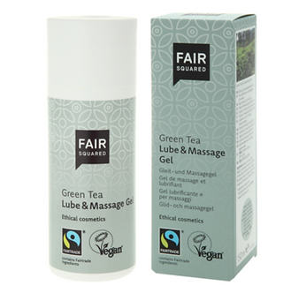 Fair Squared : GEL Lubrifiant & Massage au Thé Vert 150 ml
