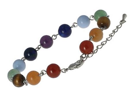 Bracelet pierres 7 Chakras
