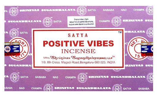 Ondes Positives - Encens bâtons Satya 15g