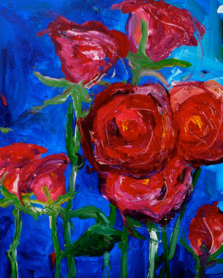'A Wild Bunch of Roses'