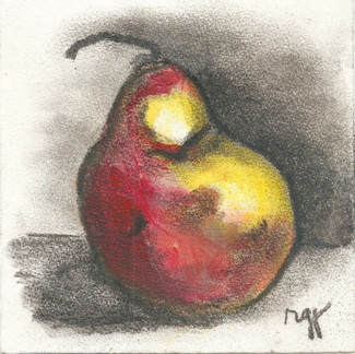 'A Red Pear'