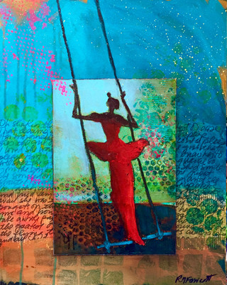 'The Girl on the Trapeze'