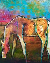 White Horse 16x20