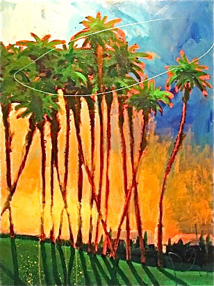 'Palms at Sunrise'