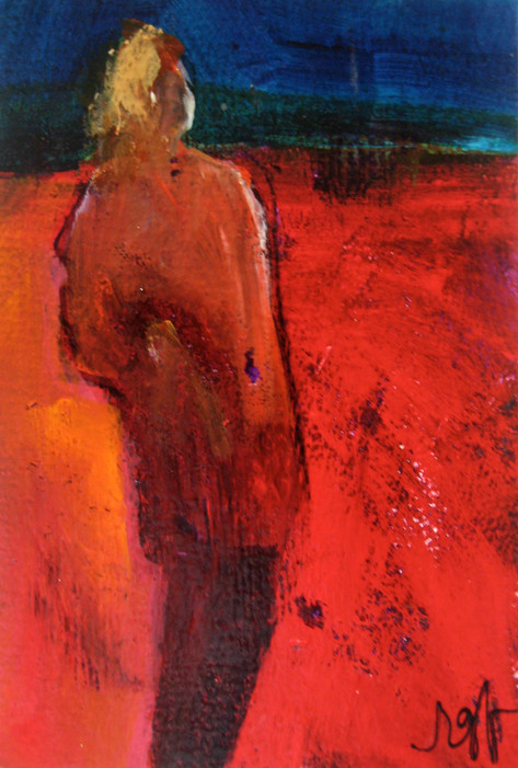'Red Figure on Red'