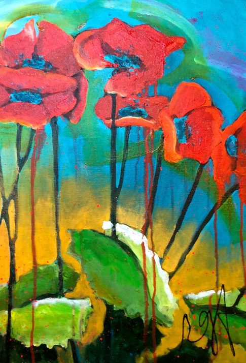 'Morning Poppies'