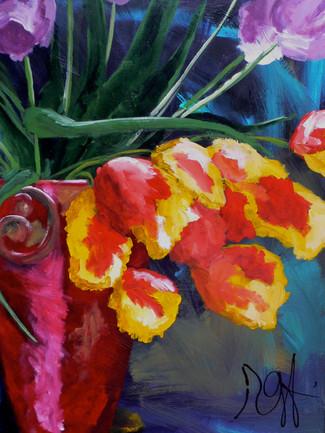 'Spent Tulips'
