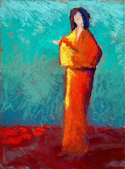 An Orange Robe