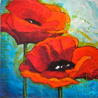 'Loire Poppies'