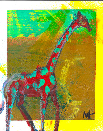 Giraffe Spots'
