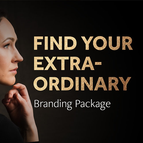 """Find Your Extraordinary"" Branding Package"