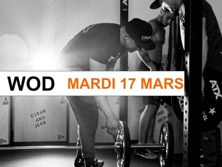 WOD 17/03/2020