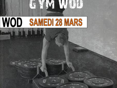 GYMNASTICS WOD 28/03/2020