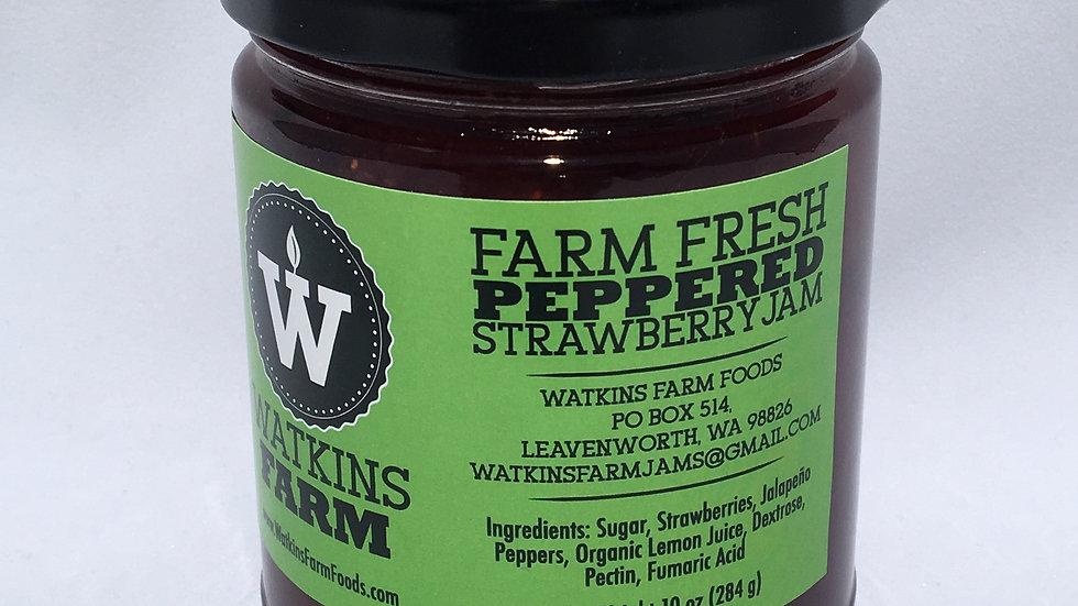 Peppered Strawberry Jam