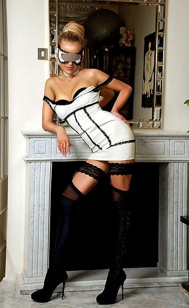 Blonde escort in london