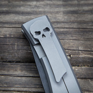 Signature Chaves Knives Skull Pocket Clip