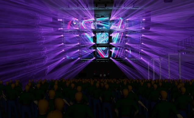3D RENDER LIGHTING DESIGN
