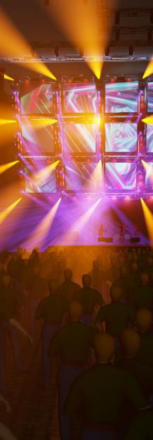 EDM FESTIVAL 3D DESIGN