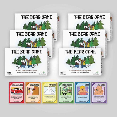 The Bear Game (6 units - $12.00)