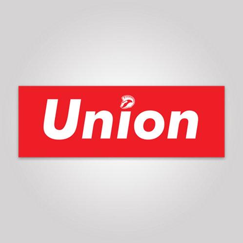 Supreme Union Sticker