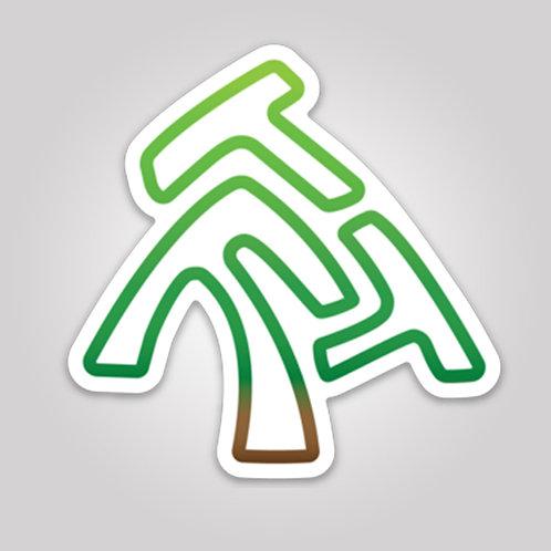 ThreeFreeTrees Magnet