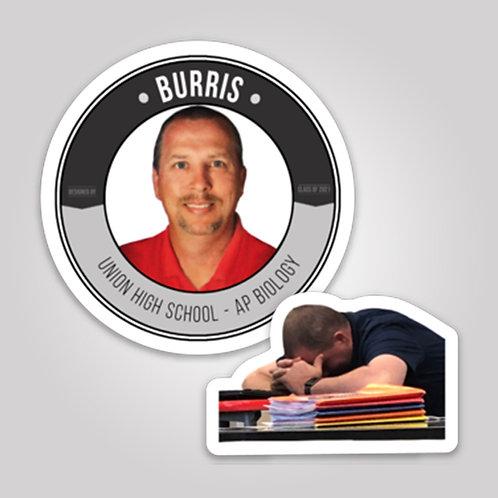 Burris Stickers