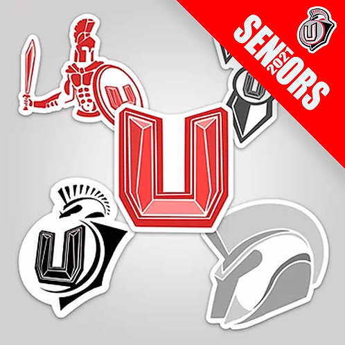 UNION SENIORS 2021 - Union Sticker Pack