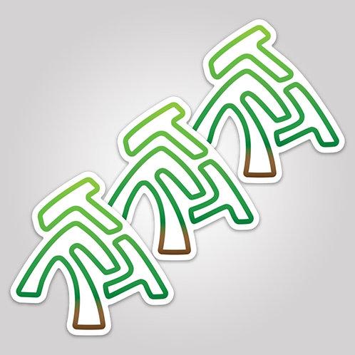 ThreeFreeTrees Sticker Pack