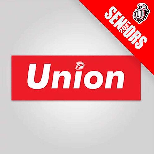 UNION SENIORS 2021 - Supreme Union Sticker