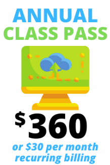 Annual Class Pass LOGO ONLY 200px by 300