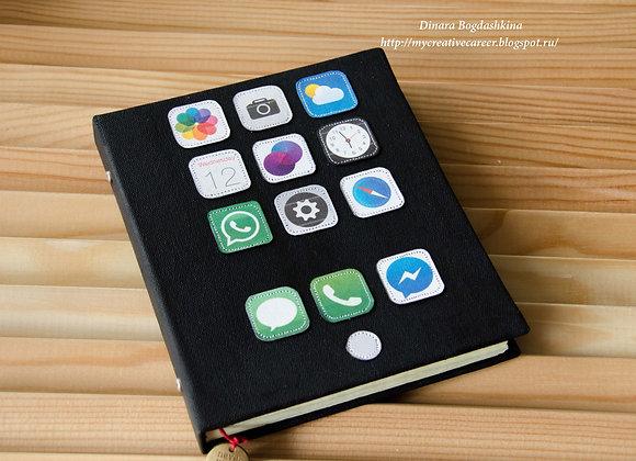 Блокнот для любителей apple
