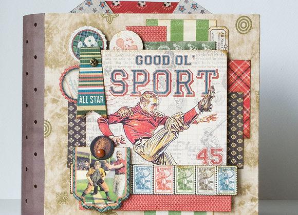 Мини-альбом для спортсмена