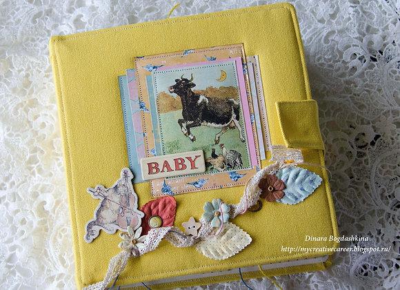 Детский альбом для новорожденного ребенка