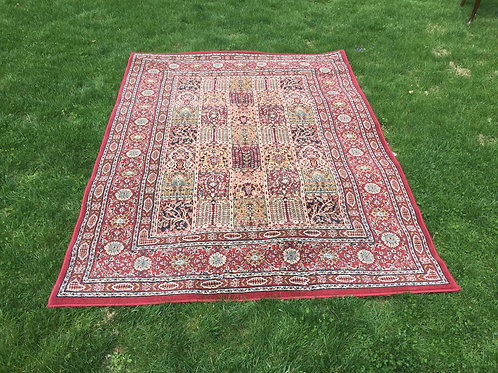 Red Oriental Rug (5'x8')
