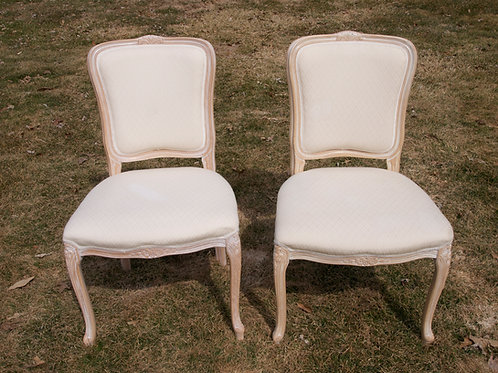 White Upholstered Chairs