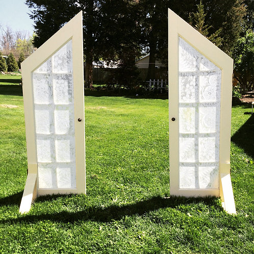 Doors with Lace