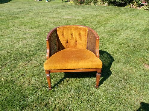 Gold Club Chair
