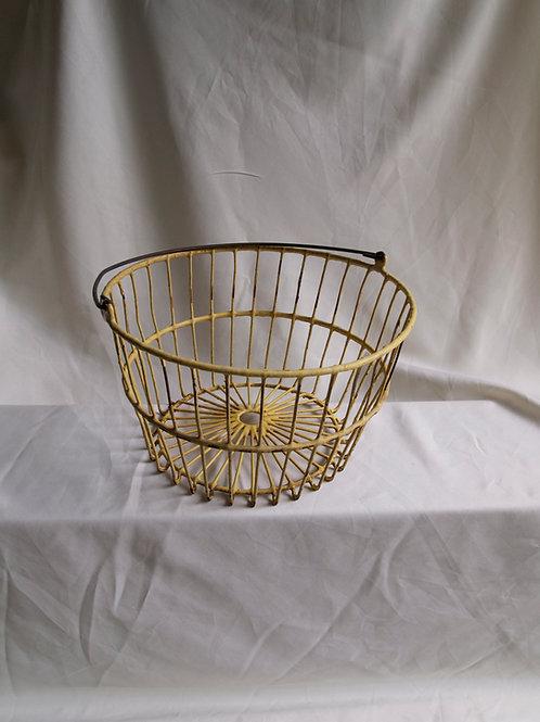 Yellow Egg Basket