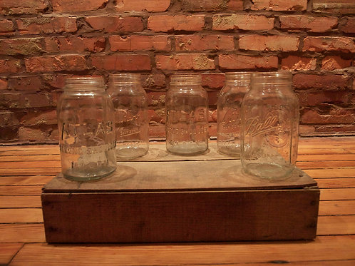 Quart Size Mason Jars
